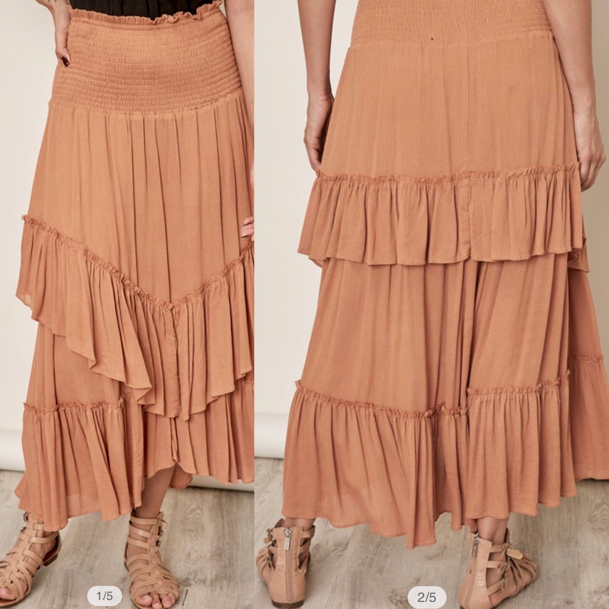 4810- Walk on By Maxi Skirt