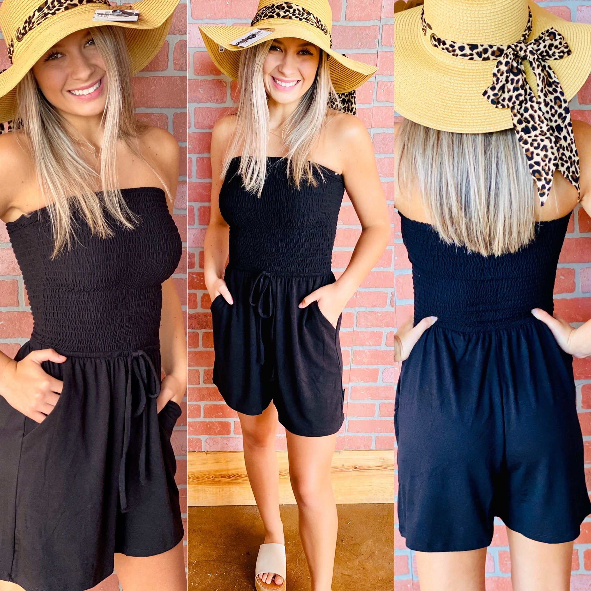 4488-Summer Nights and City Lights Romper