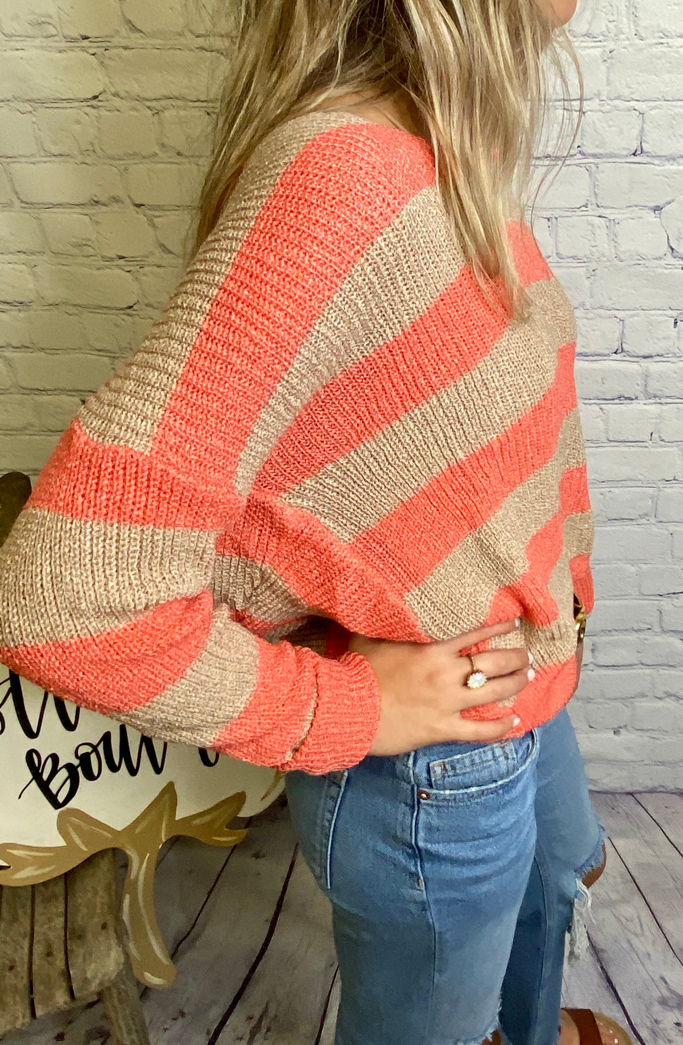 4283-WEEKEND vibes Sweater