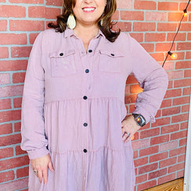4251-Making Me Blush Dress/Tunic