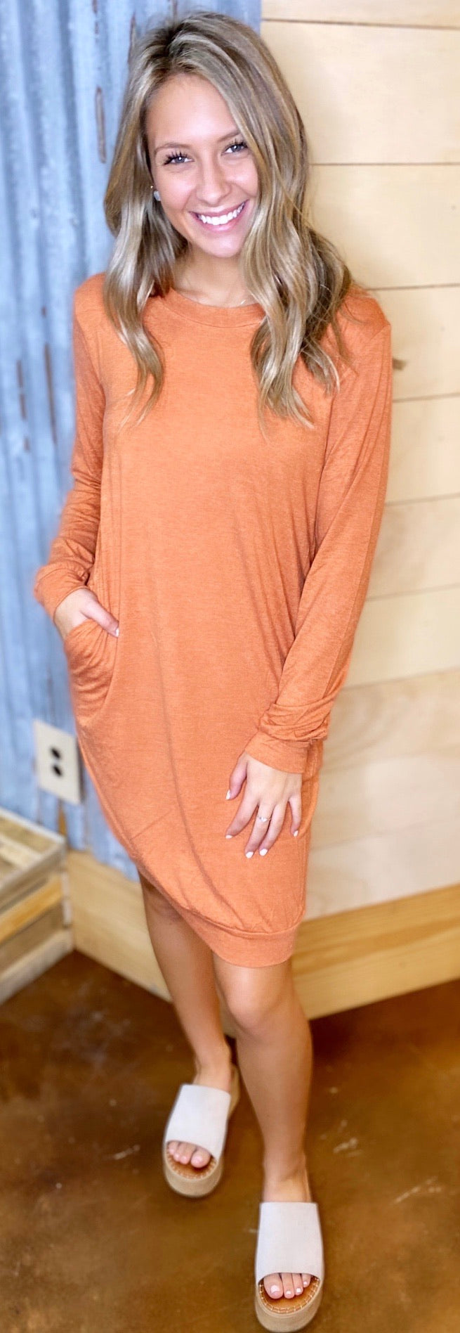 4850-Just Can't Wait Tunic Dress