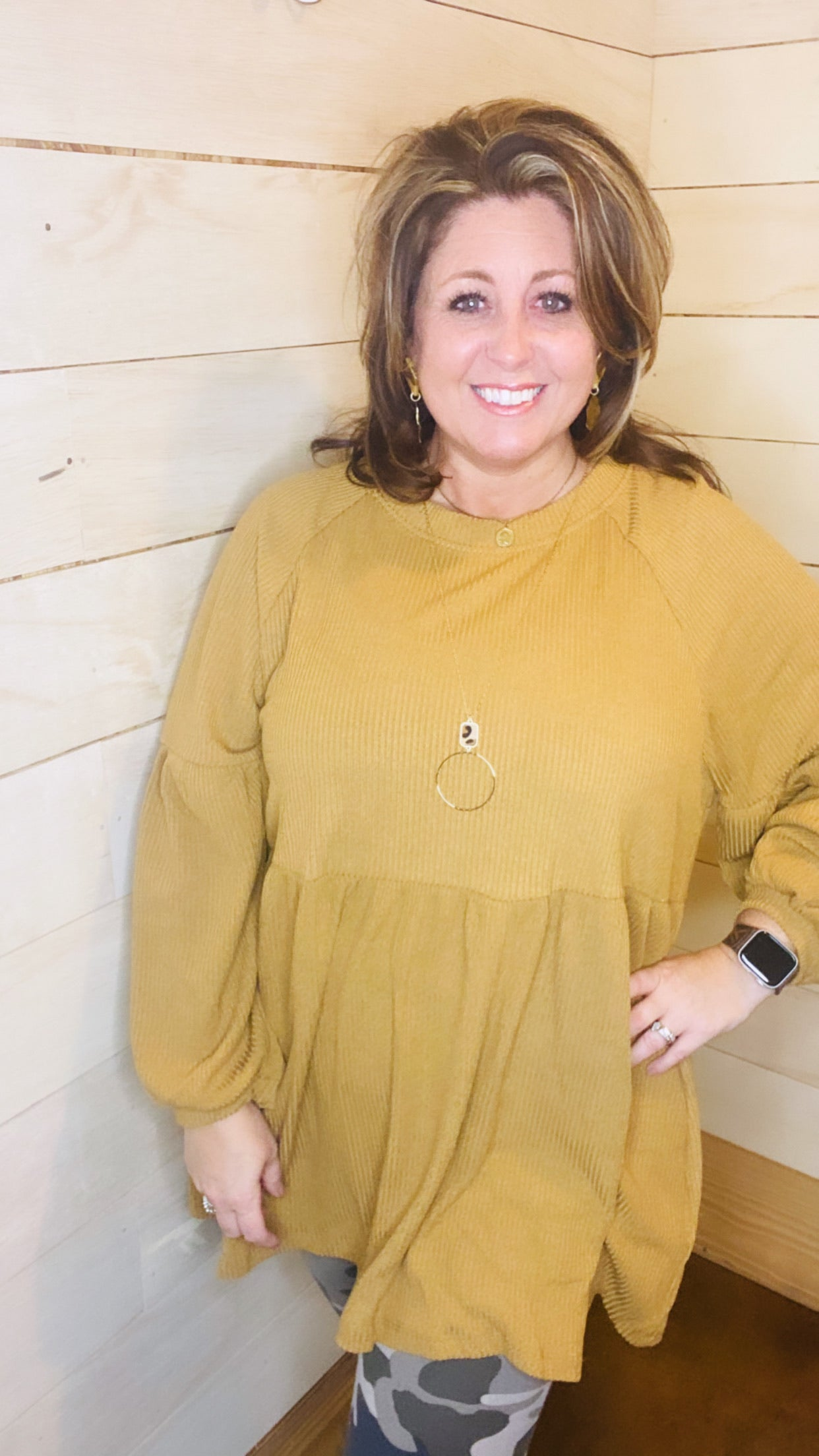 5036-Only Miles Apart Tunic Top