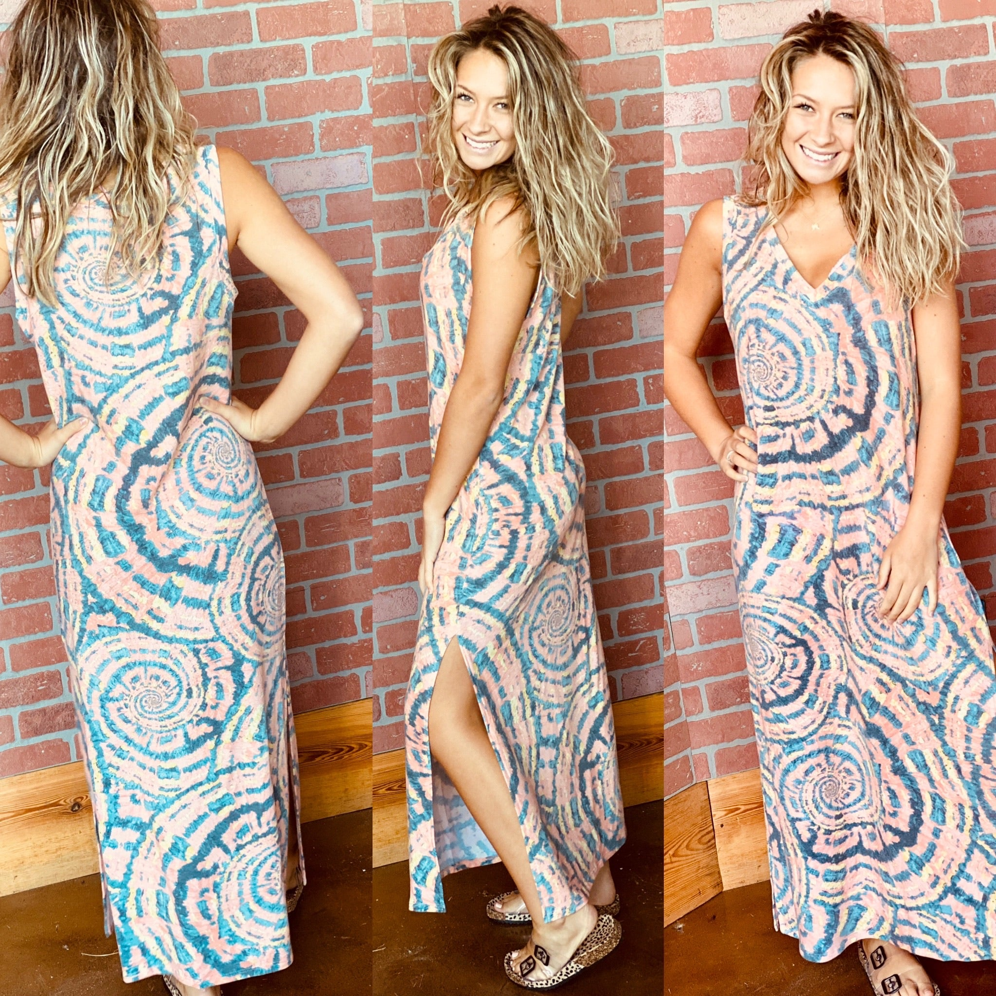 4524-Life In Motion Maxi Dress