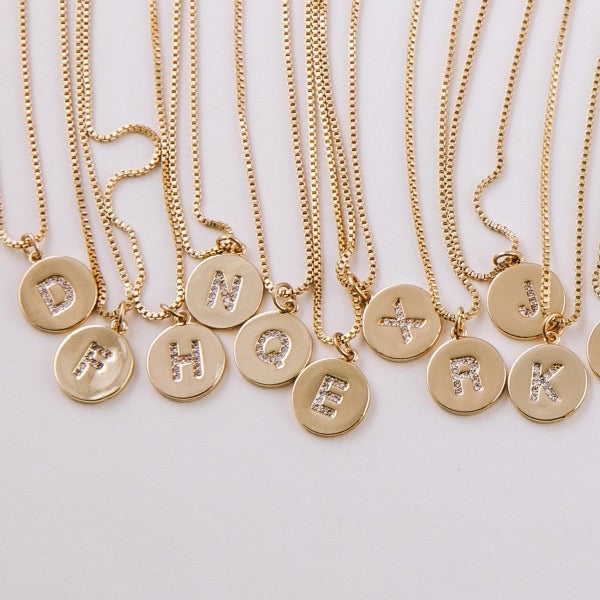 4160-Initial Necklace