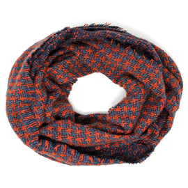 4144-Houndstooth Infinity Scarf
