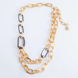 4333-Chain Linked Necklace
