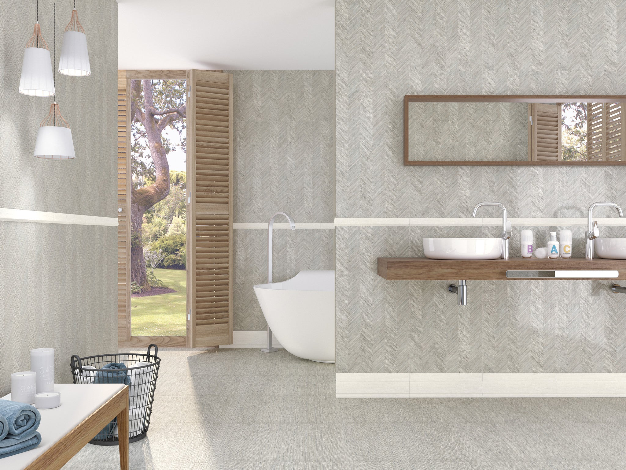 Bali Linen Look Porcelain Collection – ECO TILE IMPORTS
