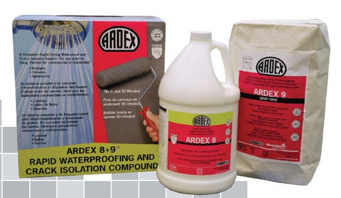 Ardex 8+9 Rapid Waterproofing and Crack Isolation Compound