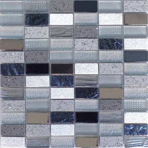 City Grey Mosaic