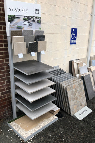 Porcelain Paver Displays