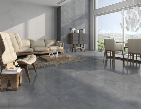 Style 12x24, 18x18 Cement Look Porcelain Collection