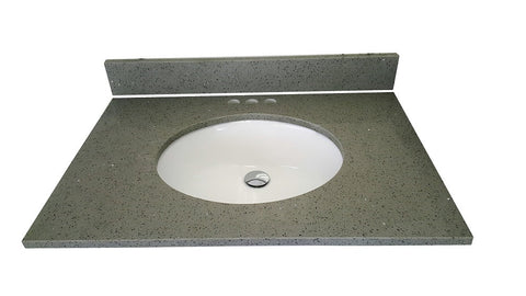 Quartz Grey Vanity Top