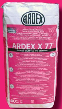 X77 ARDEX  MICROTEC Fiber Reinforced Tile and Stone Mortar