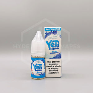 Yeti Salt - Blue Raspberry - Hyde Vapes - Waterloo