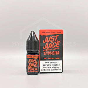 Just Juice Nic Salt - Blood Orange, Citrus & Guava - Hyde Vapes