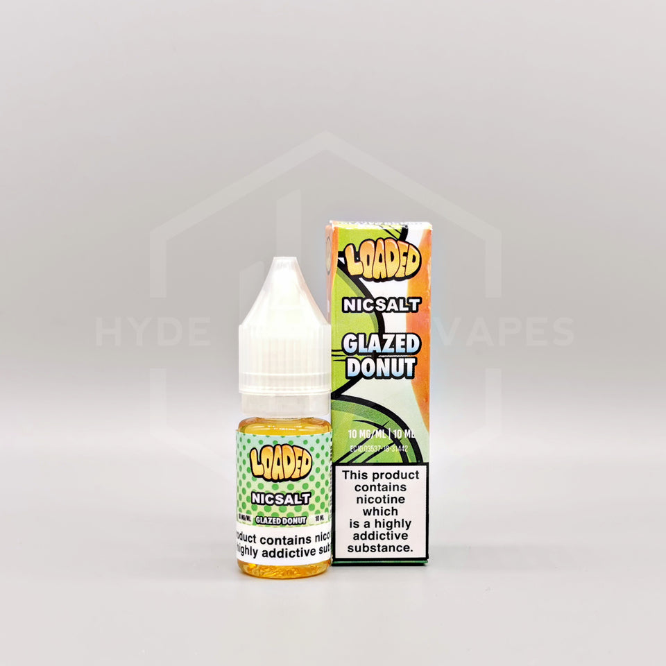 Loaded E-Liquid Nic Salt - Glazed Donut - Hyde Vapes