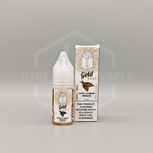 The Milkman Salt Gold - Honey & Cream Tobacco - Hyde Vapes - Waterloo