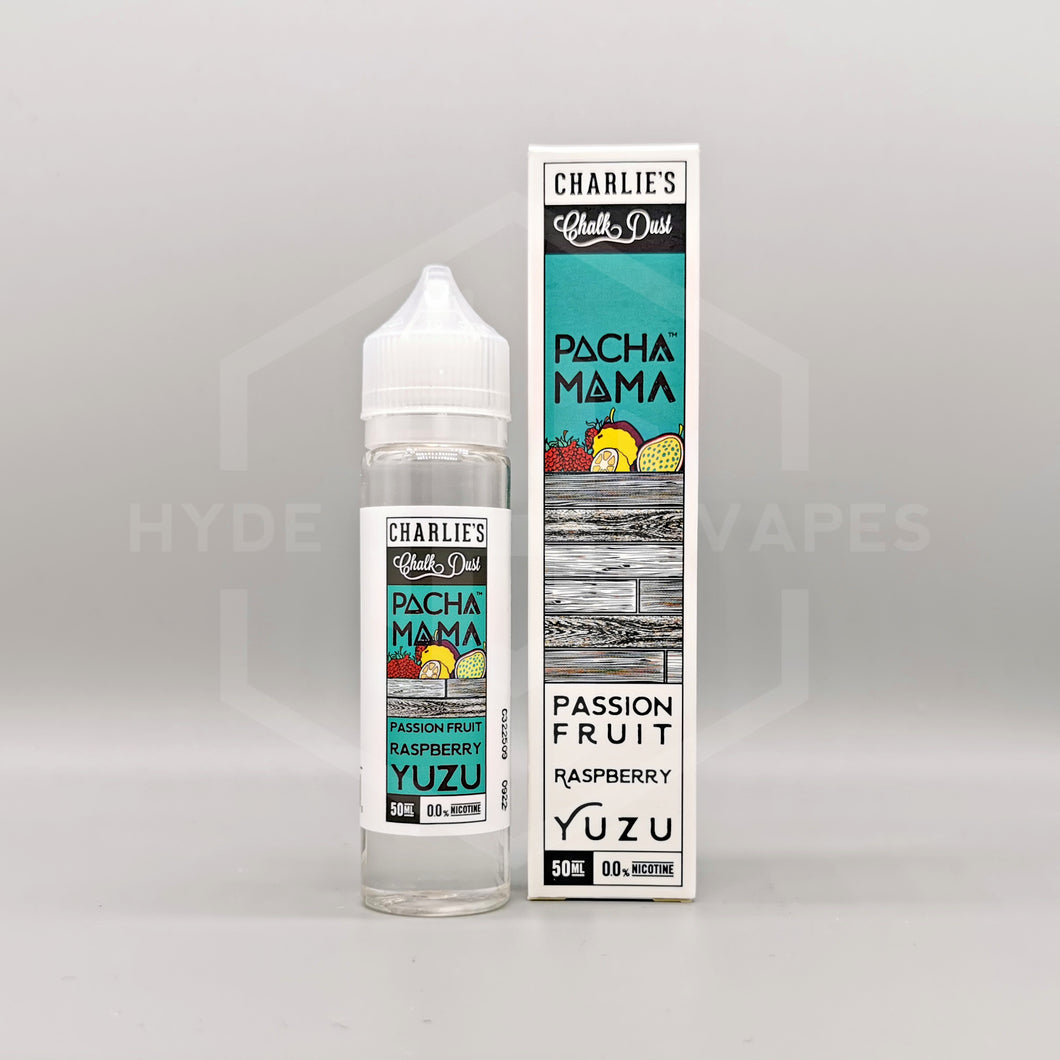 Pacha Mama - Passion Fruit Raspberry Yuzu - Hyde Vapes