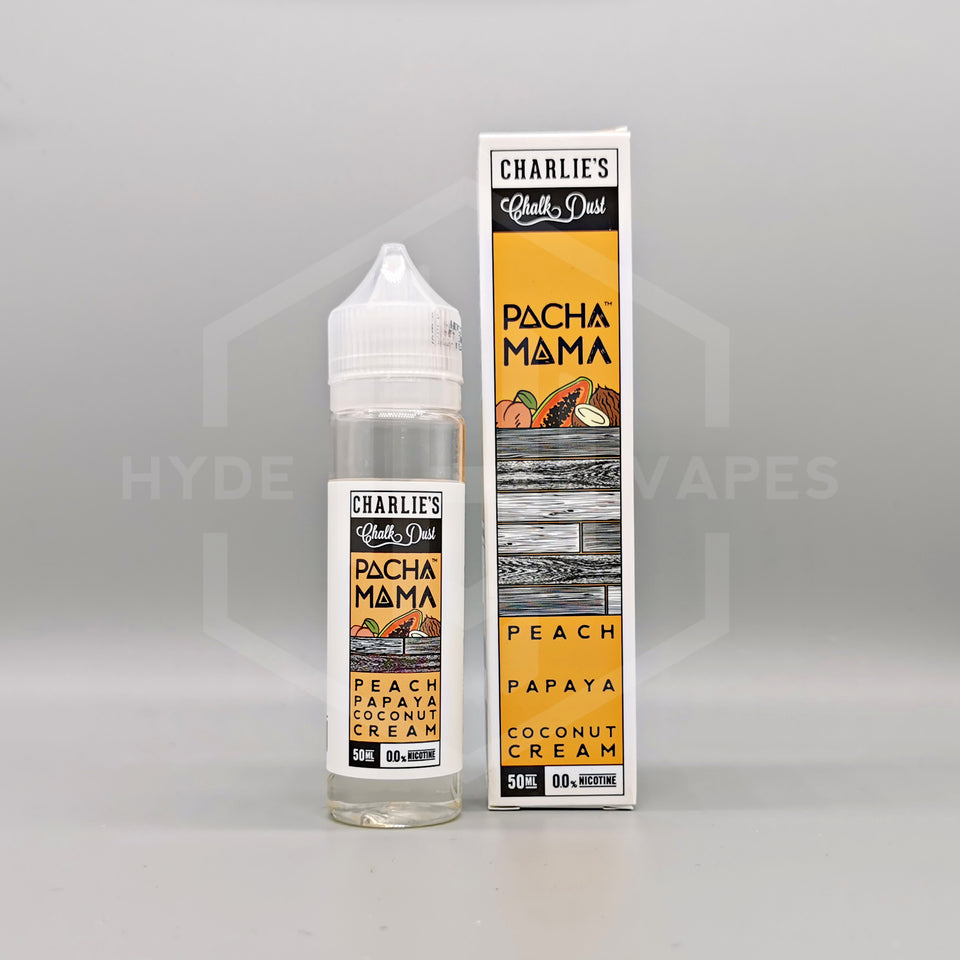 Pacha Mama - Peach Papaya Coconut Cream - Hyde Vapes - Waterloo