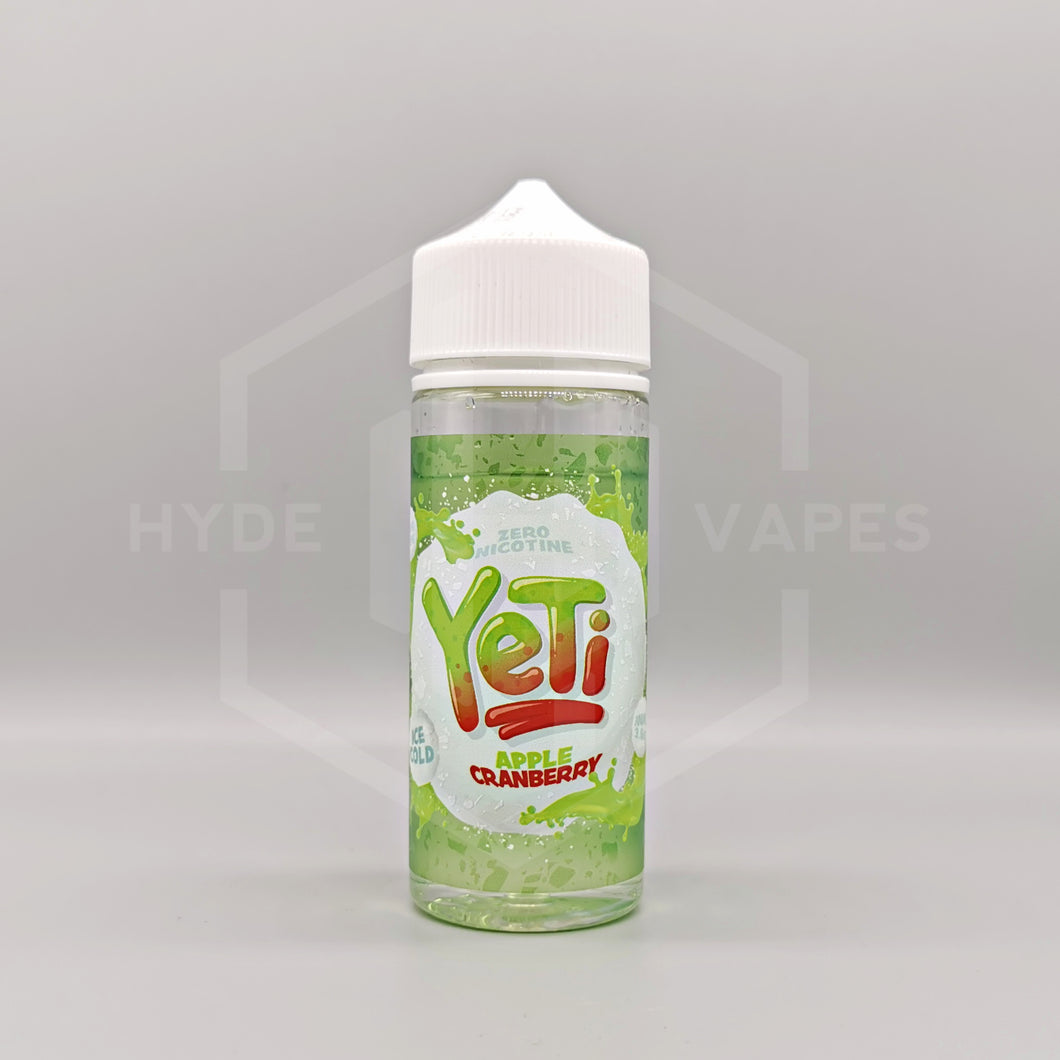 Yeti Ice Cold - Apple Cranberry - Hyde Vapes