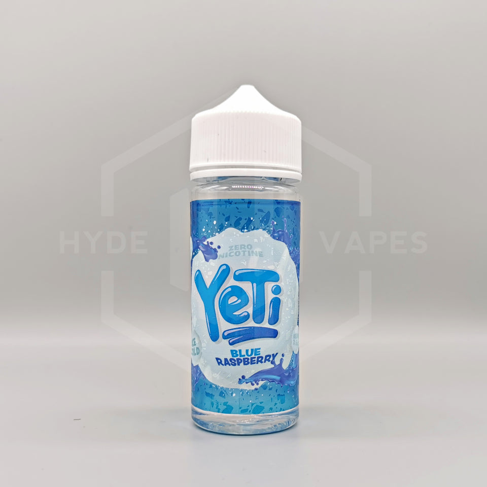 Yeti Ice Cold - Blue Raspberry - Hyde Vapes - Waterloo