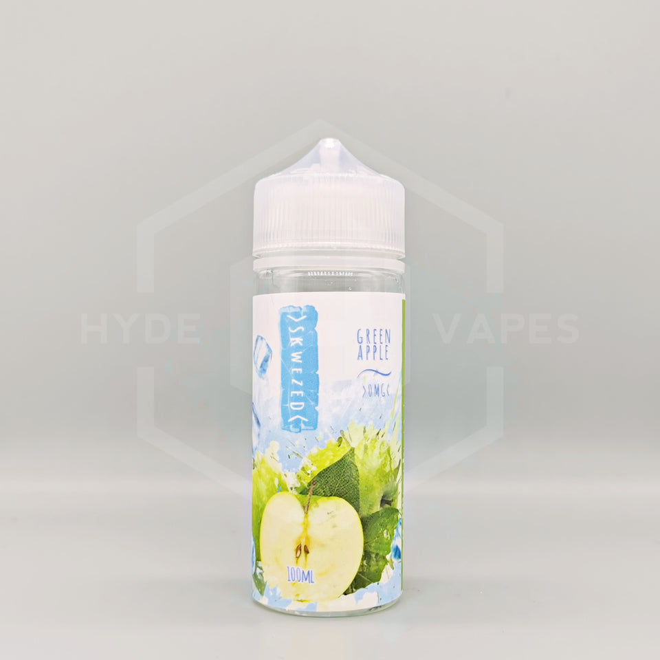 Skwezed Ice - Green Apple Ice - Hyde Vapes
