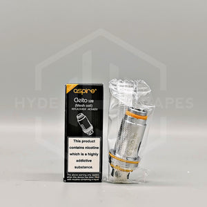 Aspire Cleito 120 Coils - Hyde Vapes
