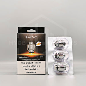 Smok Coils - V8 EU Coils - Hyde Vapes - Waterloo