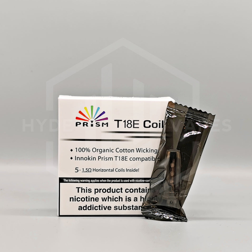 Innokin - Endura Prism T18E replacement coil - Hyde Vapes