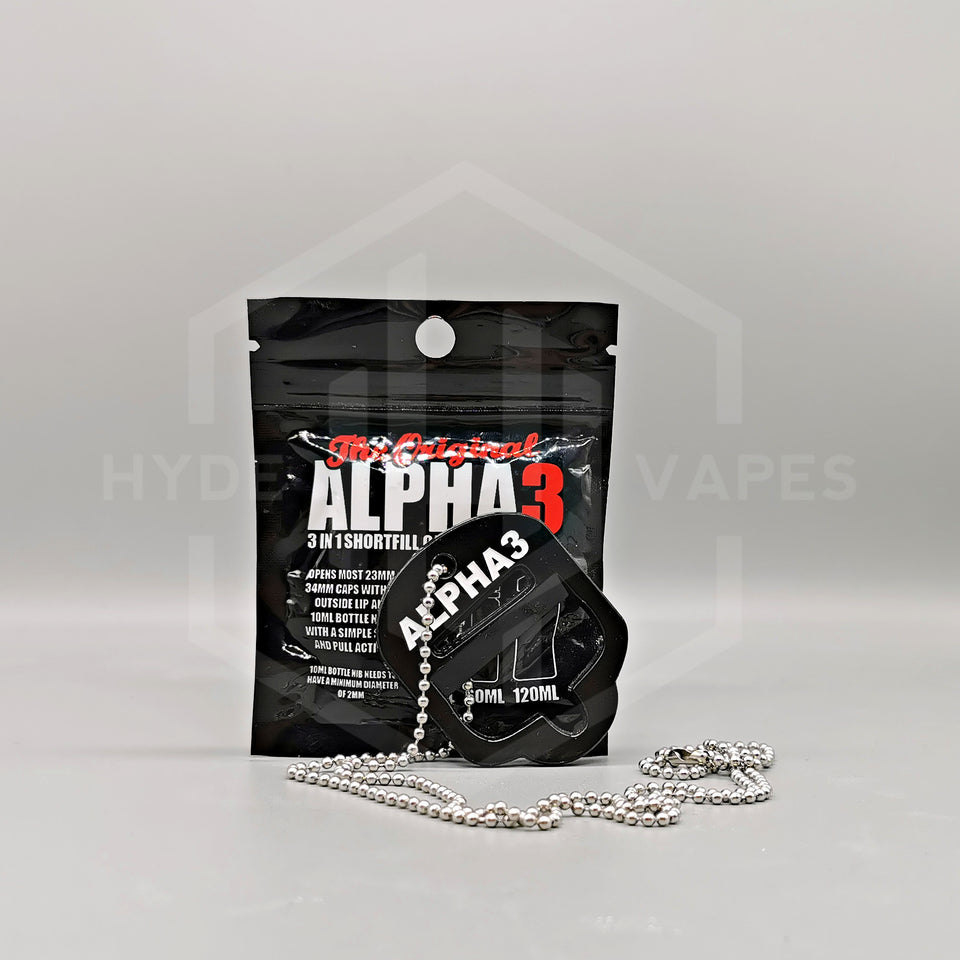 Alpha 3 in 1 Shortfill Cap Removal Tool - Hyde Vapes - Waterloo