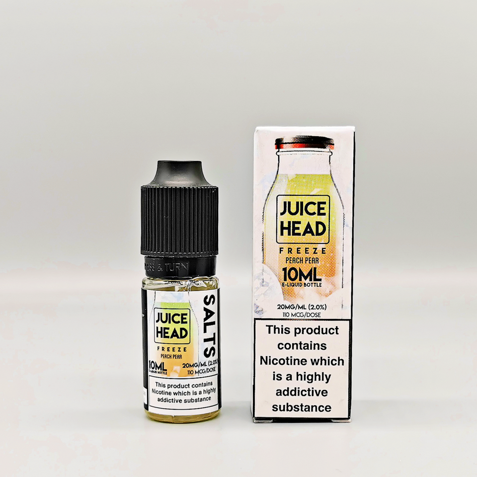 Juice Head Salt Freeze - Peach Pear - Hyde Vapes - Waterloo