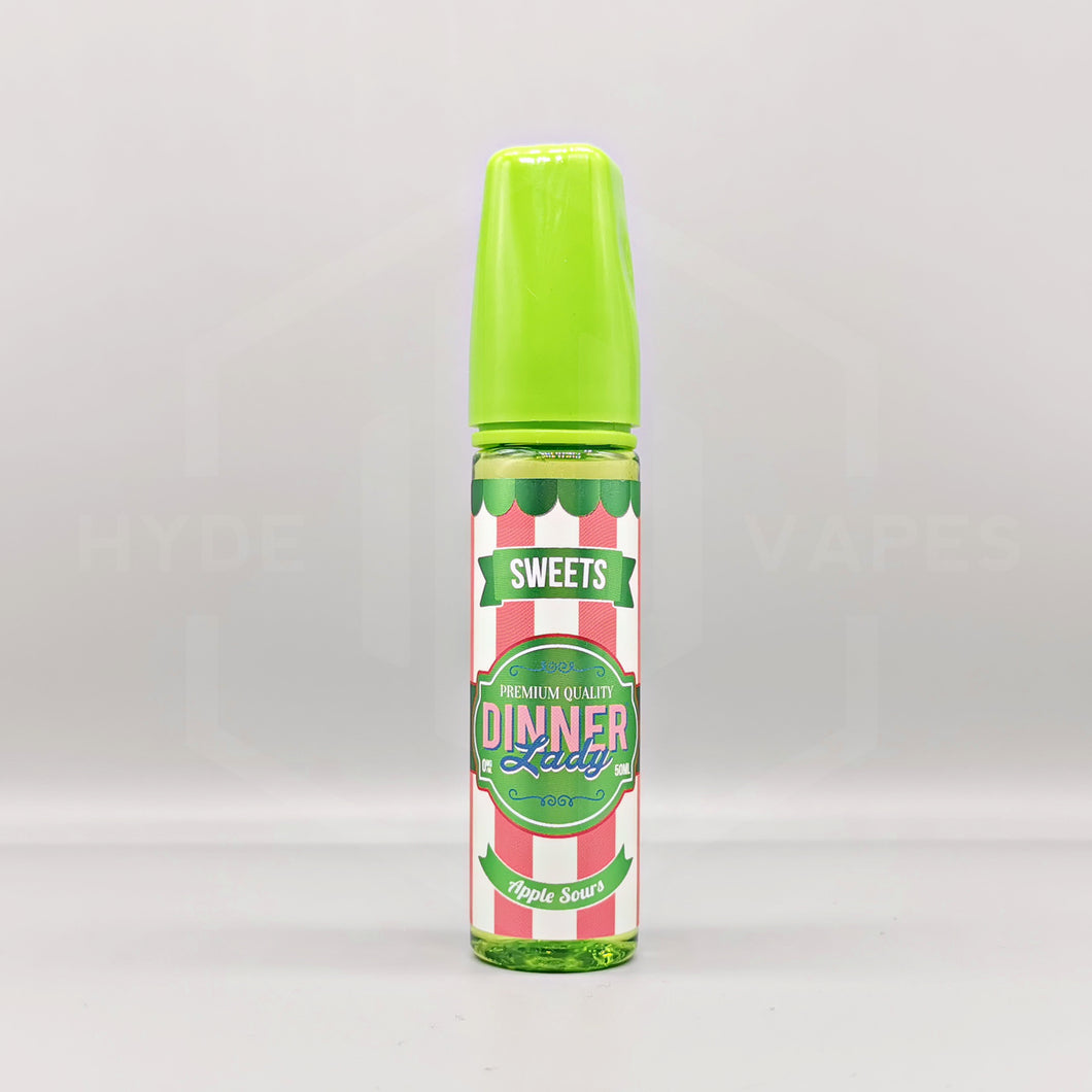 Dinner Lady Sweets - Apple Sours - Hyde Vapes