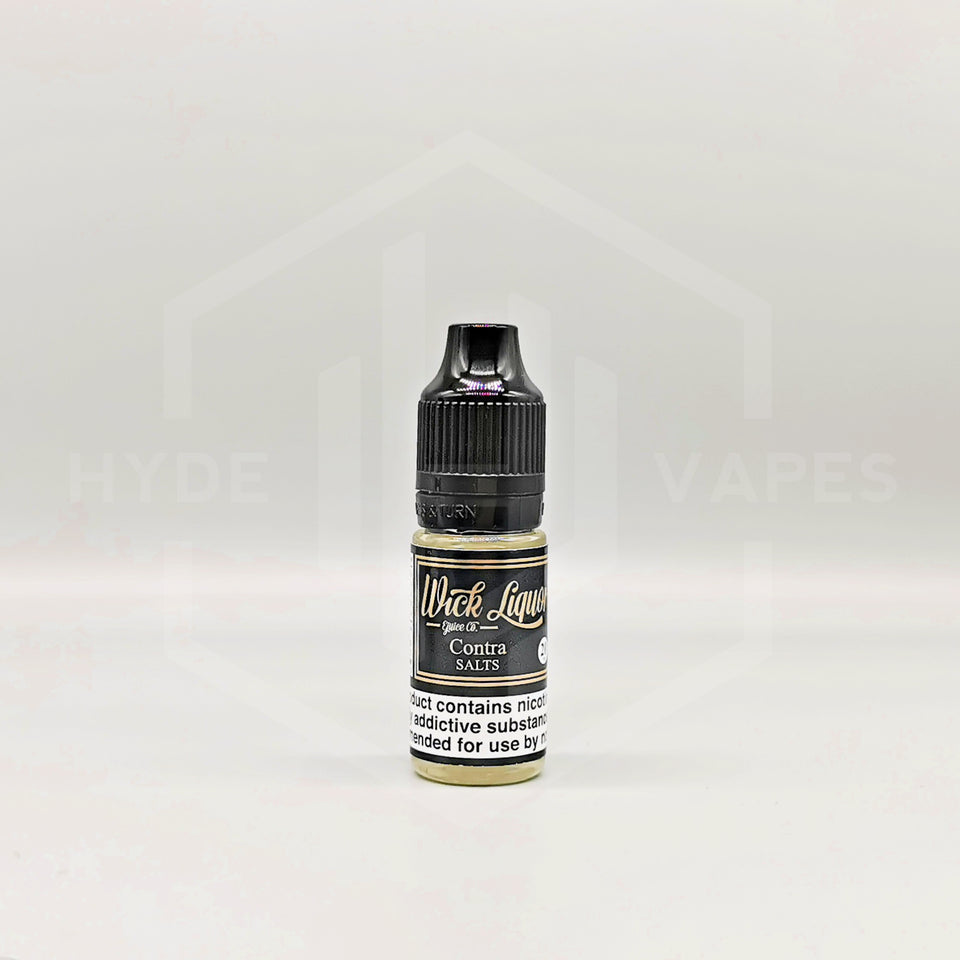 Wick Liquor Nic Salt - Contra - Hyde Vapes - Waterloo
