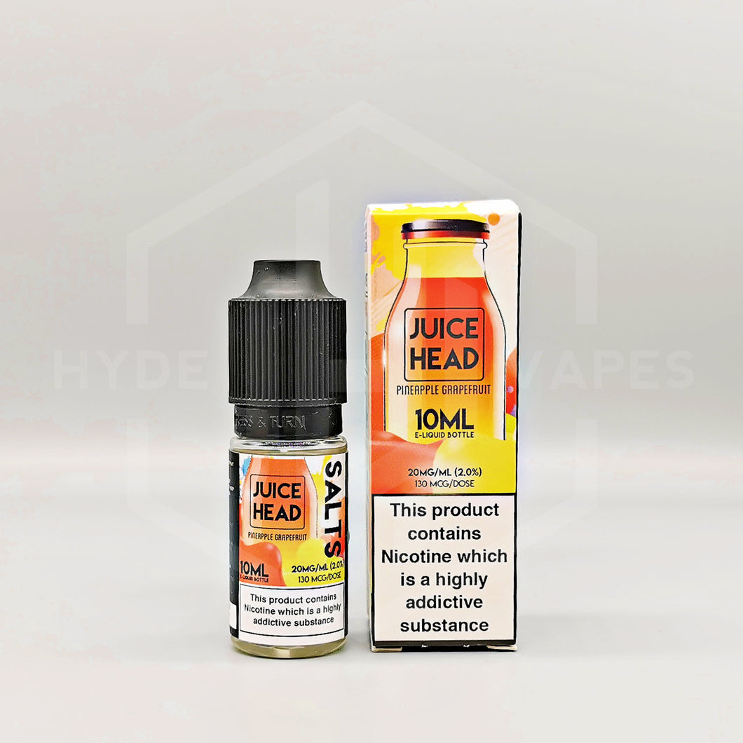 Juice Head Salt - Pineapple Grapefruit - Hyde Vapes - Waterloo