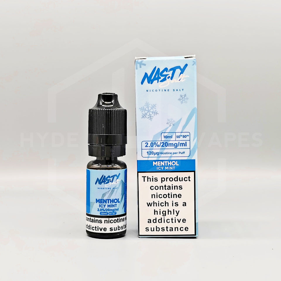 Nasty Juice Salts - Menthol Icy Mint - Hyde Vapes - Waterloo