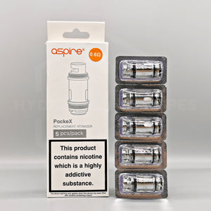 Aspire - PockeX coils - Hyde Vapes - Waterloo