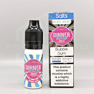 Dinner Lady Nic Salt - Bubble Gum - Hyde Vapes - Waterloo