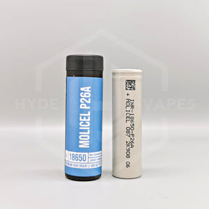 Molicel - P26A 18650 Battery - Hyde Vapes - Waterloo