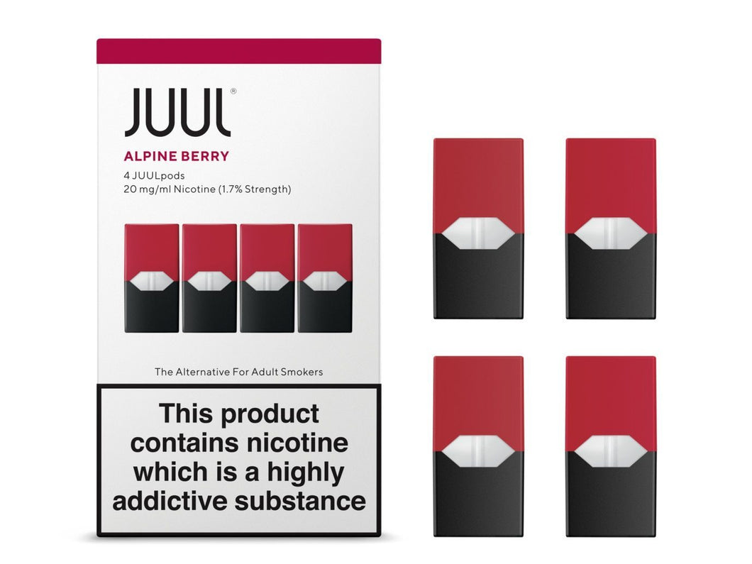 JUUL Pod 4-Pack Alpine Berry - Hyde Vapes