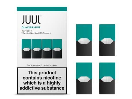 JUUL Pod 4-Pack Glacier Mint - Hyde Vapes