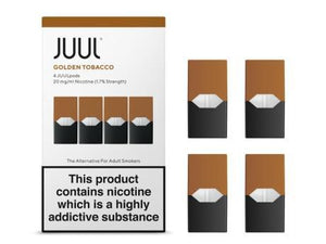 JUUL Pod 4-Pack Golden Tobacco - Hyde Vapes
