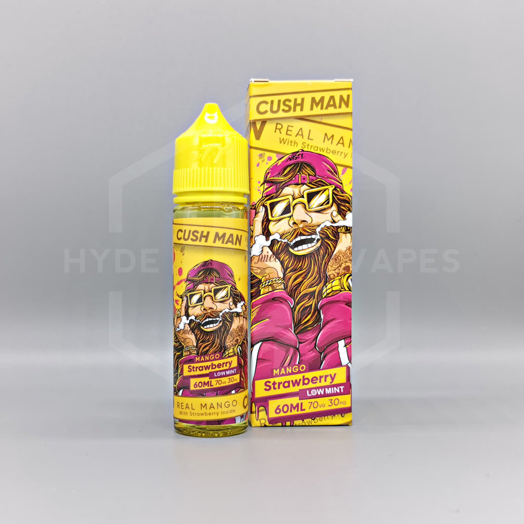 Nasty Juice Cush Man Series - Mango Strawberry - Hyde Vapes - Waterloo
