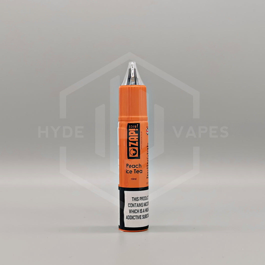 ZAP Nic Salt - Peach Ice Tea - Hyde Vapes