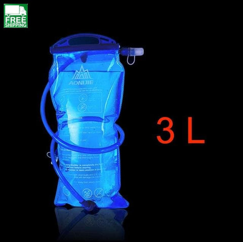 1.5L/2L/3L Cycling Running Water Bag Soft Flask Hydration Backpack