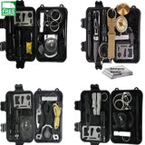Image of 10 in 1 survival kit Set Outdoor EDC Camping equipment Travel Multifunction