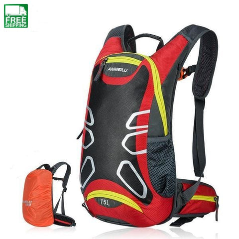 15L Sports Water Bags Hydration Bladder Backpack Outdoor 1009Gn Wb Hydration Backpack