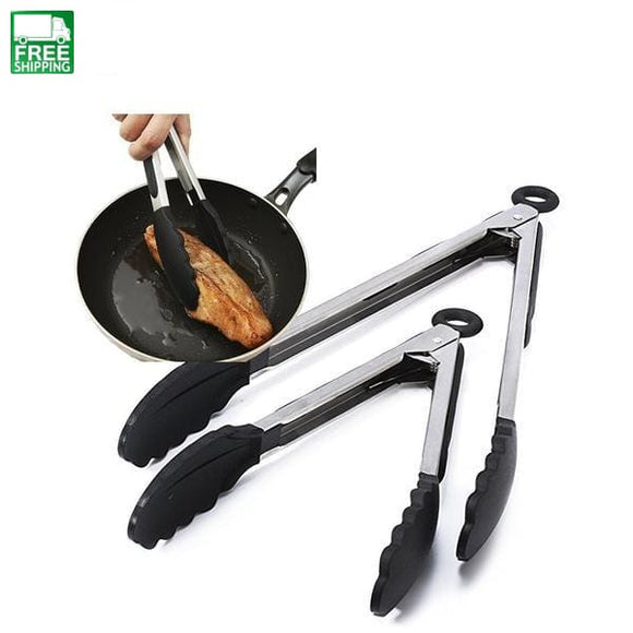 2 Pcs Se Black Kitchen Non Stick Siliconet 9 Inch&12 Inch Camp