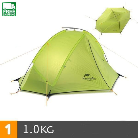 20D Nylon Taga Outdoor Camping Tent Ultralight One Bedroom Man Only Tent