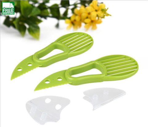 3-In-1 Avocado Slicer Multi-Functional Cutter Knife Camp Kitchen