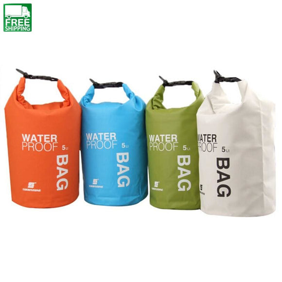 4Colors 5L Ultralight Portable Outdoor Tools Rafting Dry Bag Swim Outdoor Camping